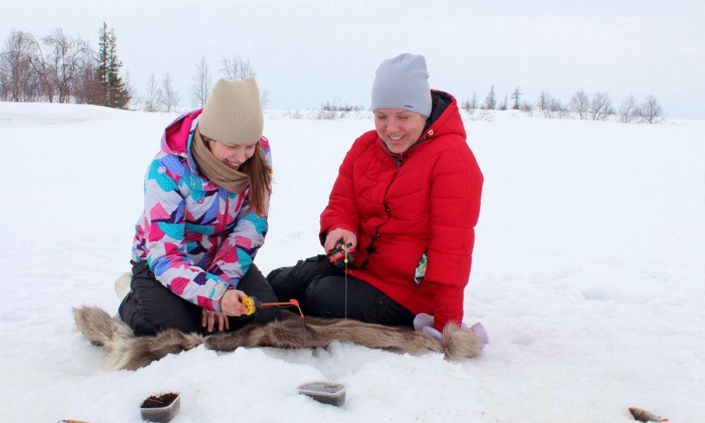 Pêche sur glace à Plevna
