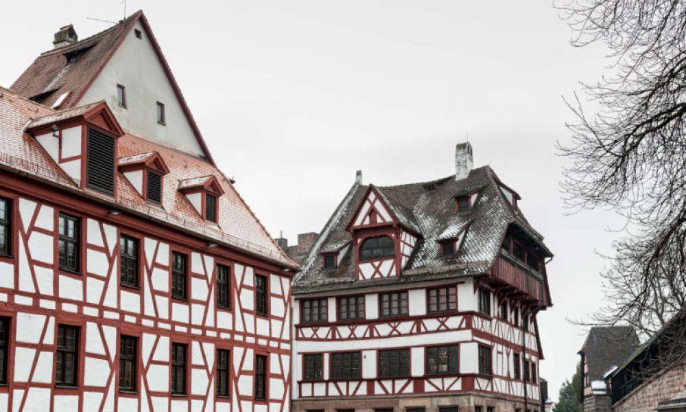 Des édifices typiques de Nuremberg