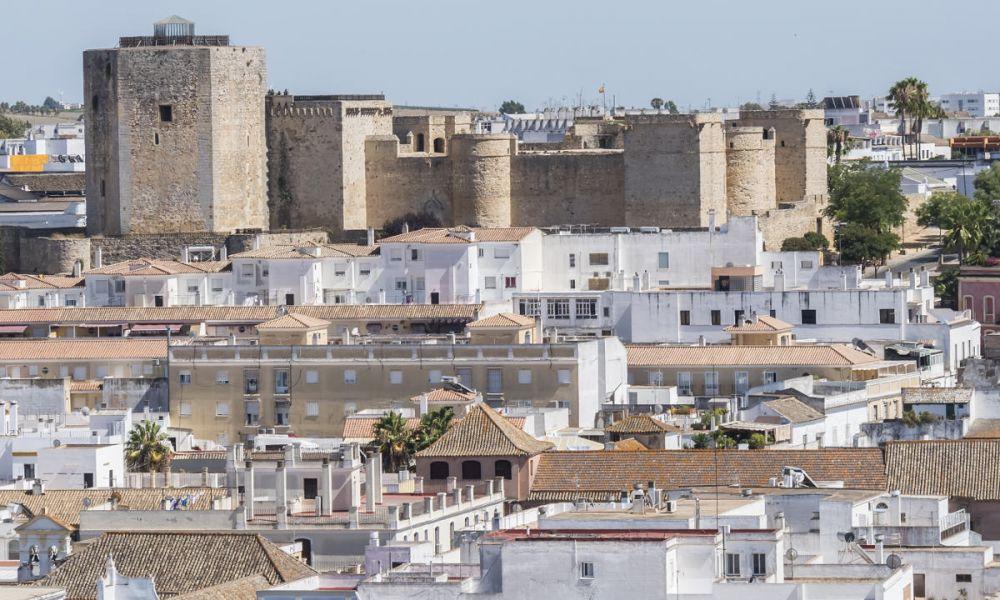 Le château de Sanlúcar de Barrameda