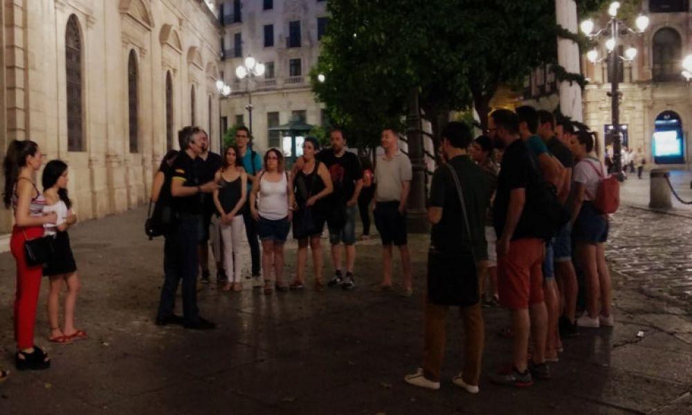 Inicio tour Sevilla Paranormal