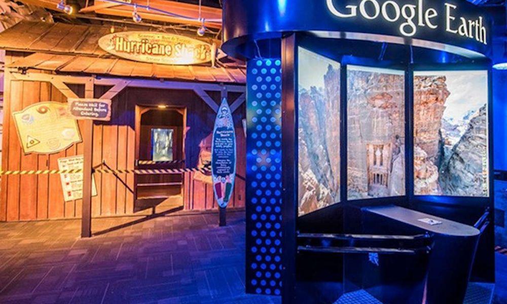 Google Earth à WonderWorks