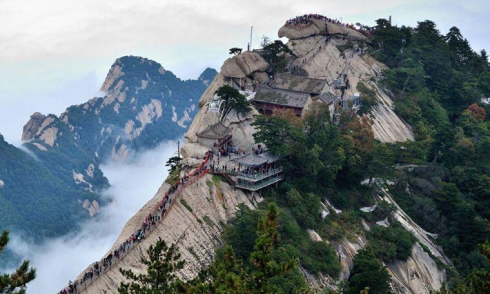 Montagne sacrée d'Huashan