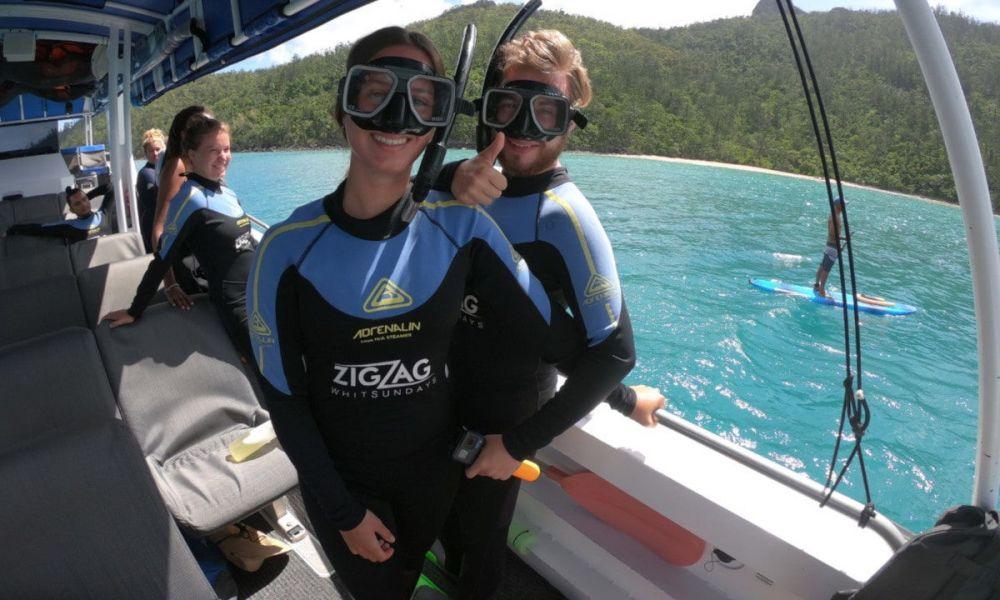 Faire du snorkeling