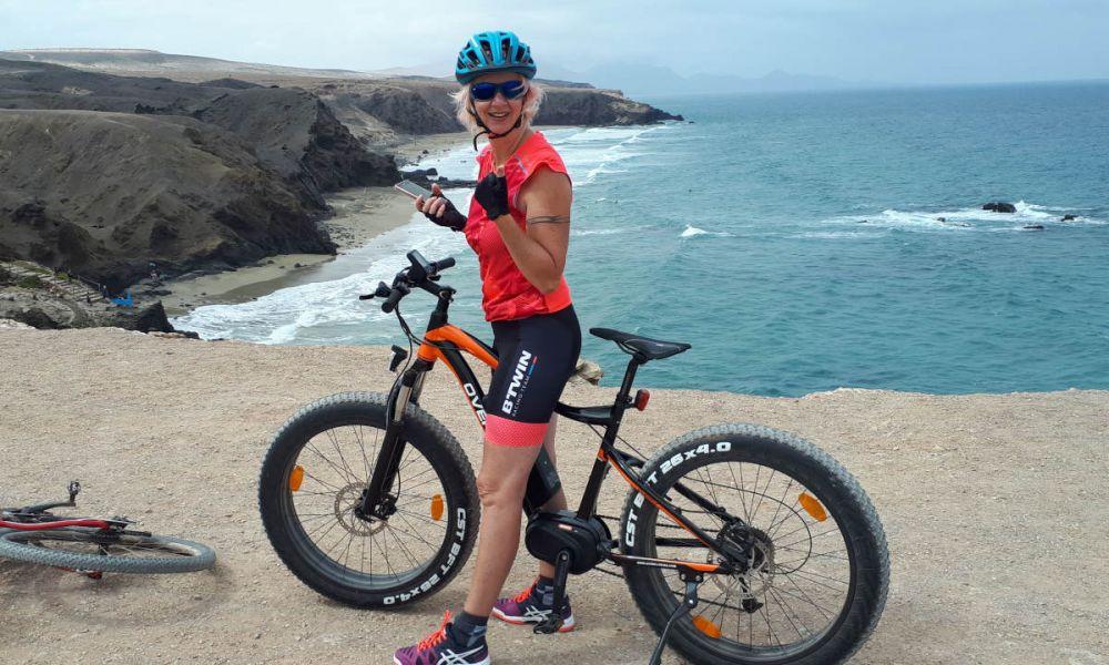 Vélo electrique à Costa Calma