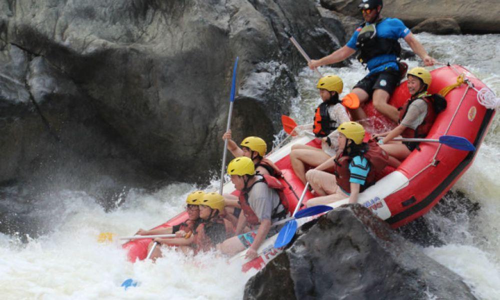 Rafting au Parc national des gorges de la Barron