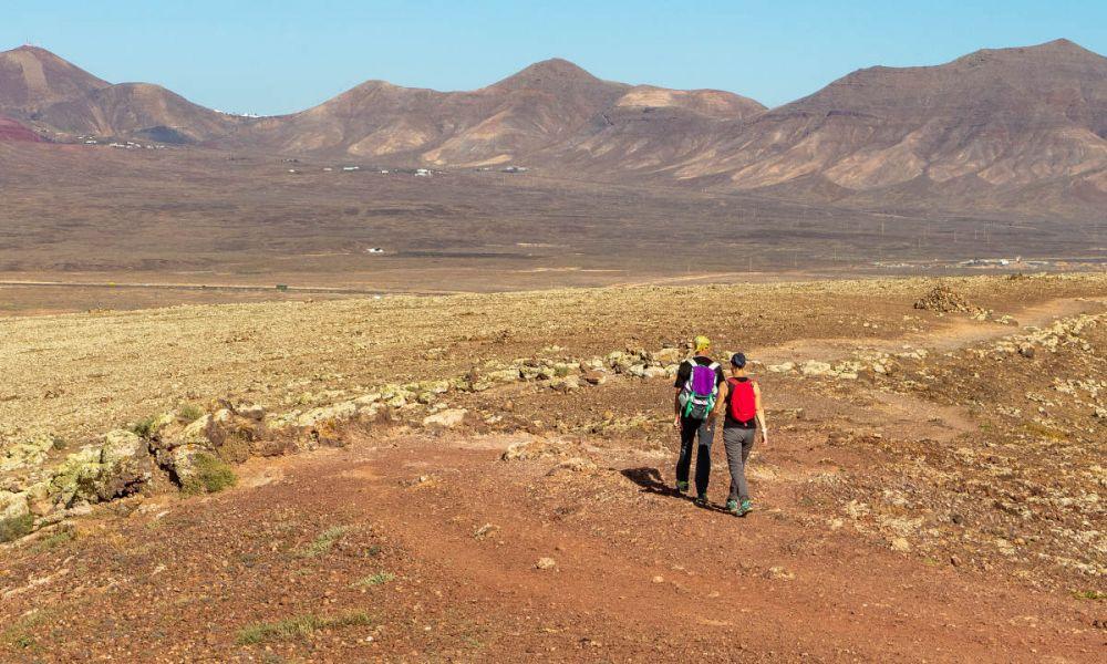 Randonnée au Parc Naturel de Los Volcanes