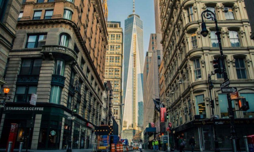 Le quartier où se trouvait le Word Trade Center