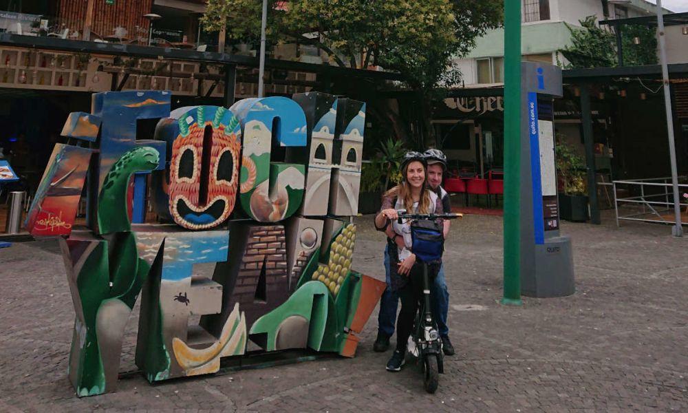 Découverte de Quito en trottinette électrique