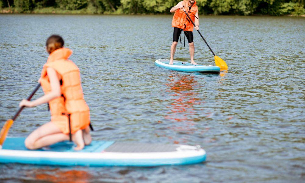 Faire du paddle à Guayaquil