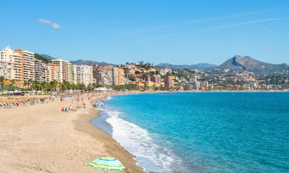 La plage de la Malagueta
