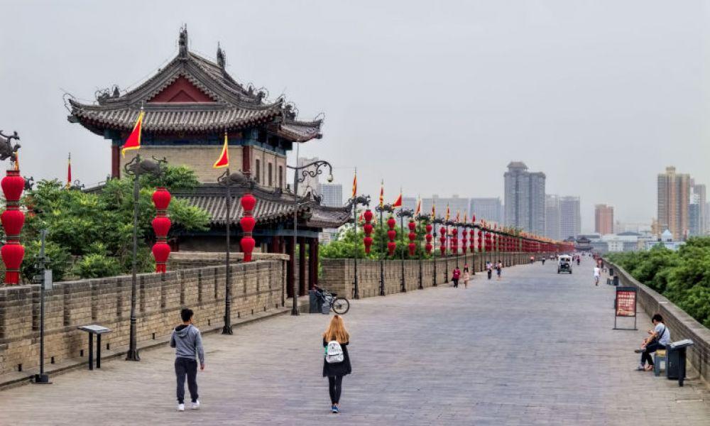Vue sur Xi'an
