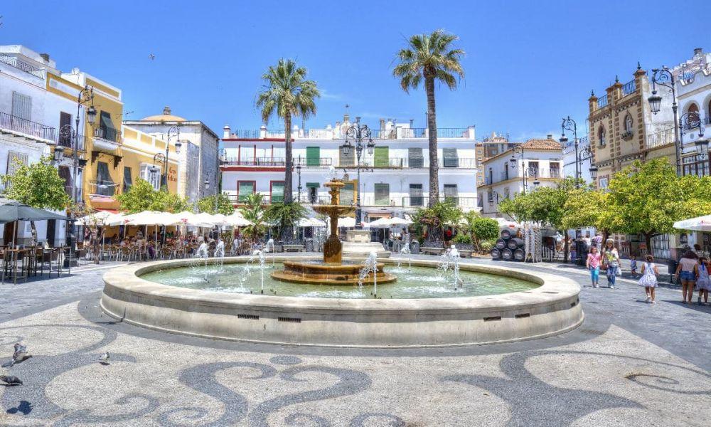 Place del Cabildo à Sanlúcar de Barrameda