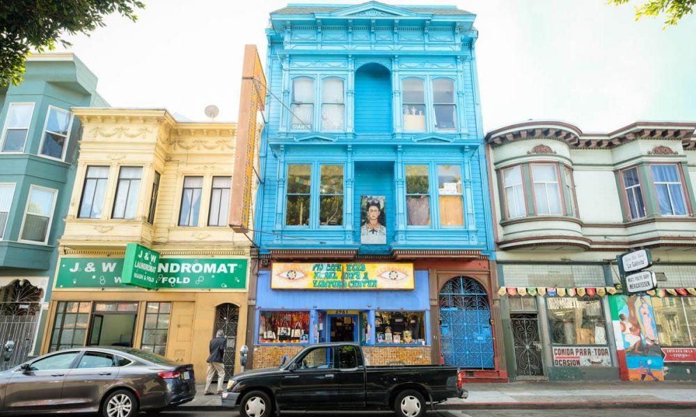 Un monument dédié à l'art de San Francisco