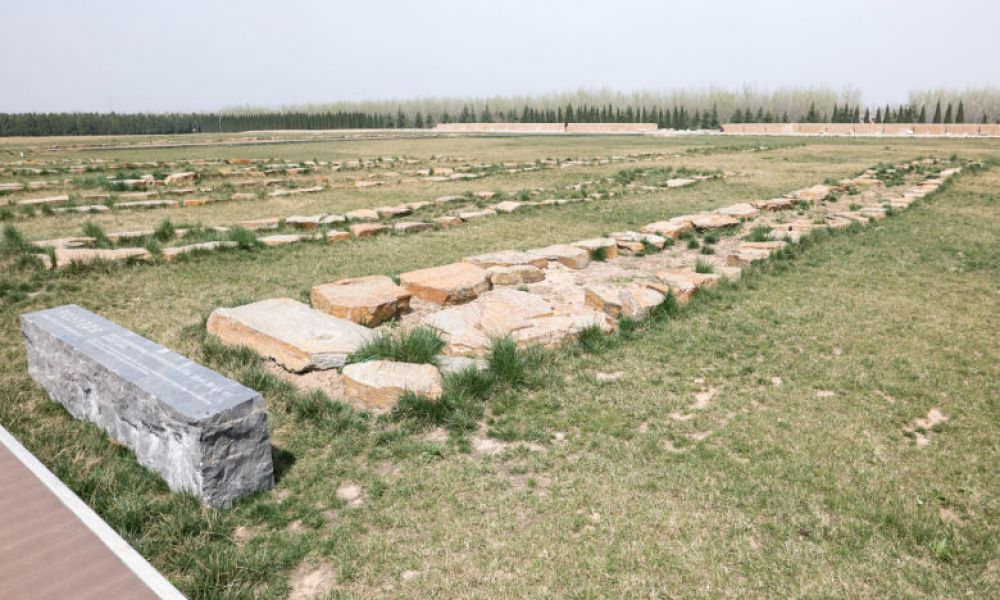 Fouilles archéologiques du Mausolée Han Yang Ling