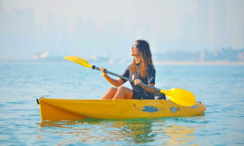 Dubaï en kayak