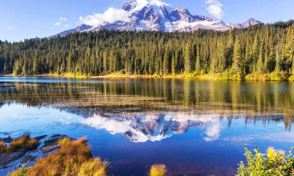 Mont Rainier, de l'État de Washington