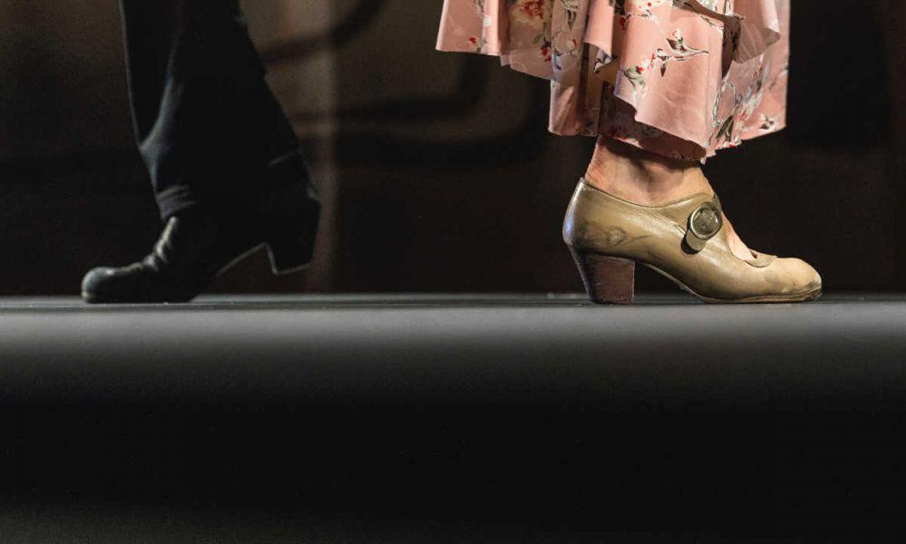 Les chaussures de flamenco