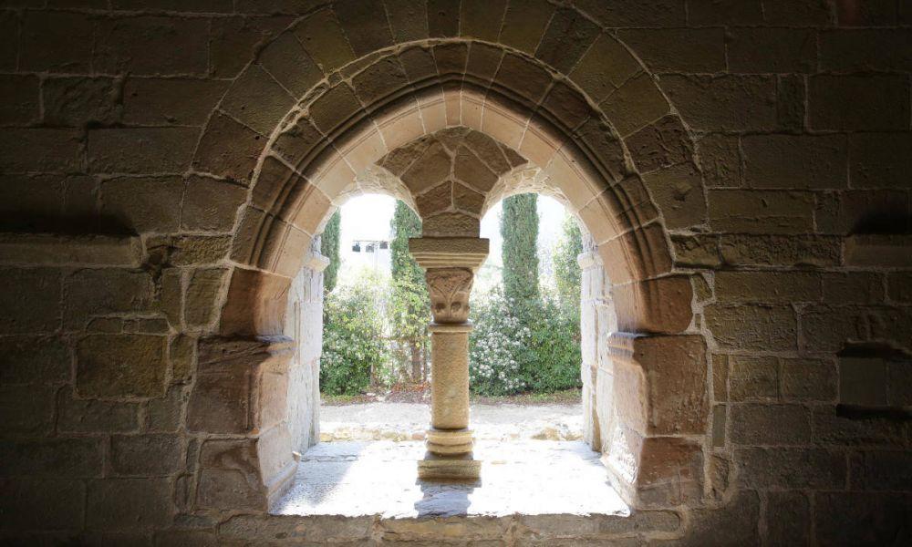 Un des arches du monastère