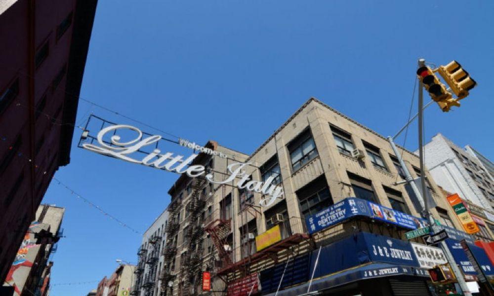 Le quartier Little Italy à New York