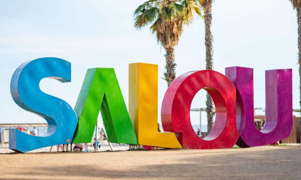 Playa (plage) de Levante, à Salou