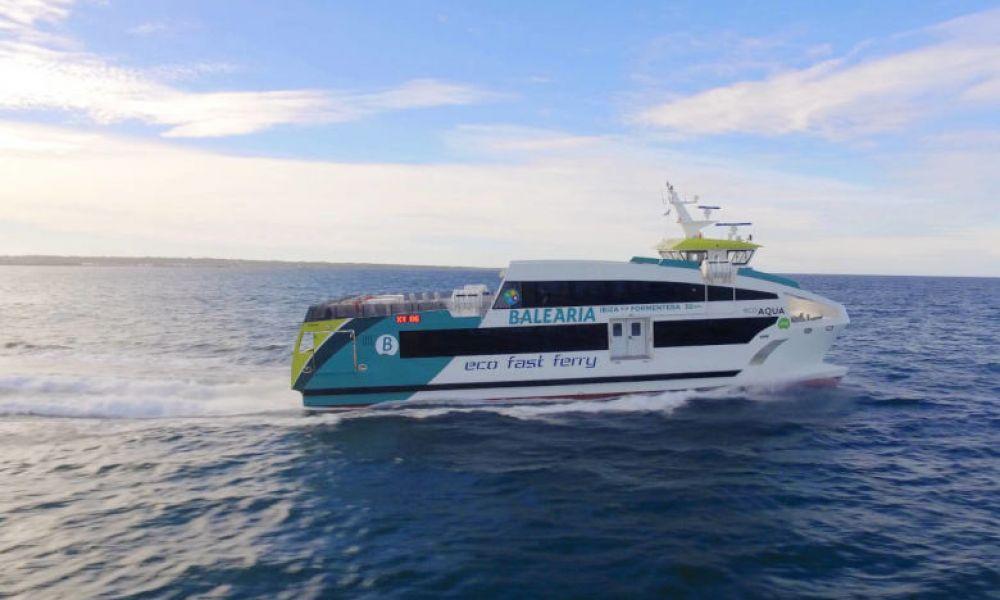 Le bateau pour Formentera