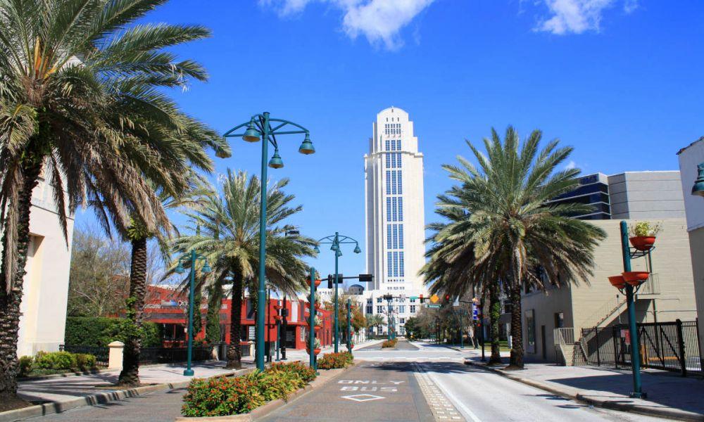 Balade dans les rues d'Orlando