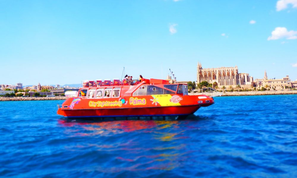 Balade en bateau sur la baie de Palma