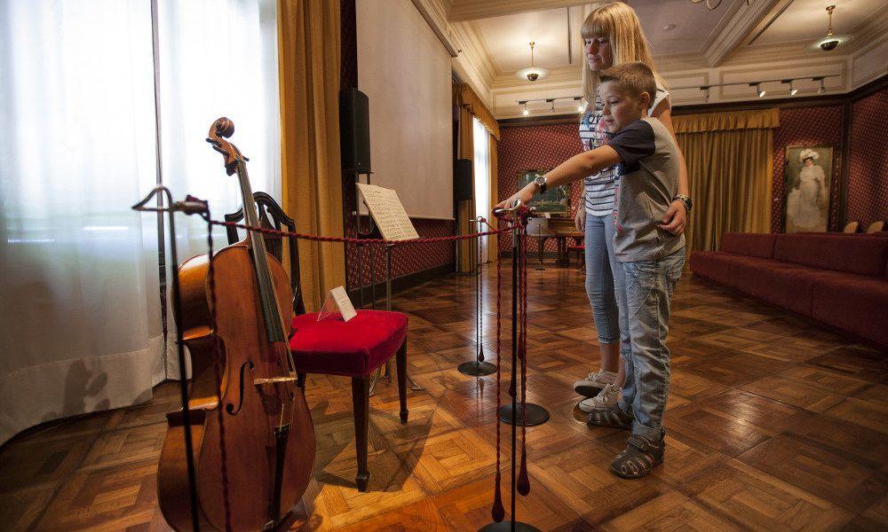 L'exposition du Musée Pau Casals