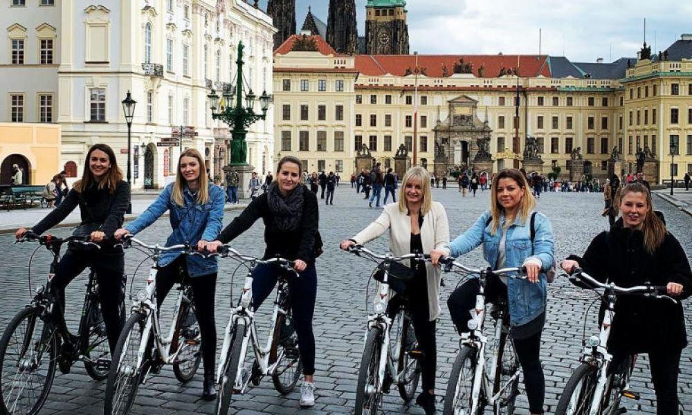 Pacours dans le centre de Prague