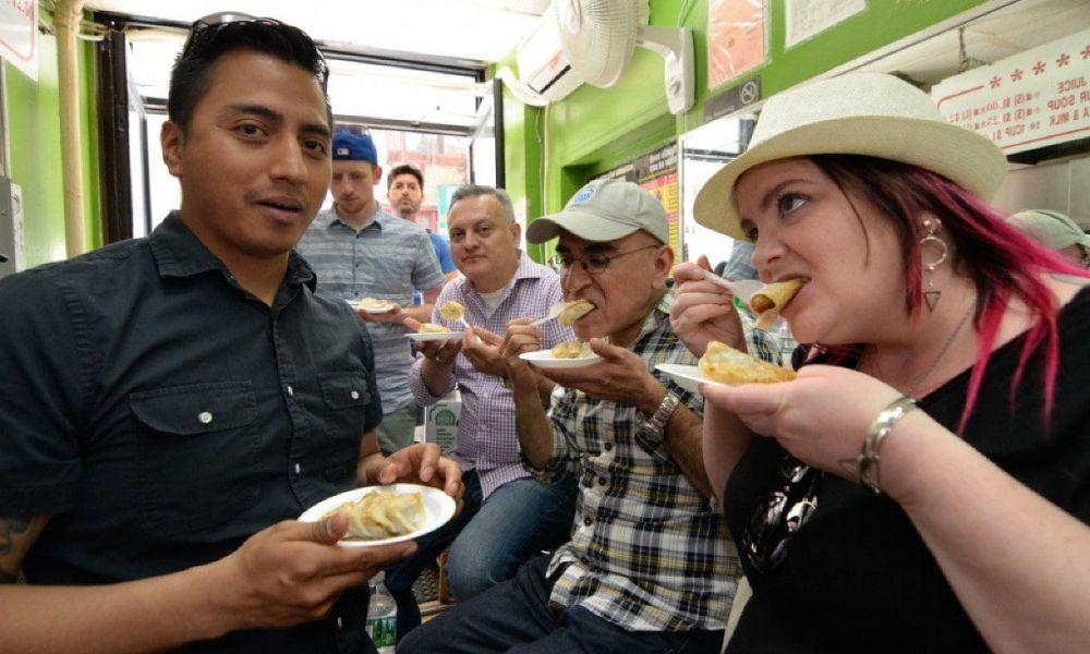 Déguster des dumplings à Chinatown