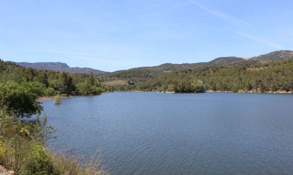 Lac du Barrage de  Riudecanyes
