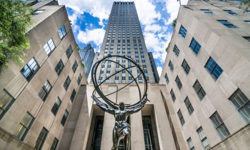 Statue de l'Atlas au Rockefeller Center