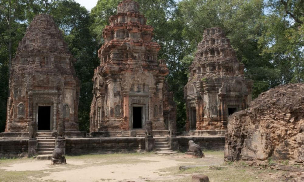 L'architecture du temple de Preah Khan