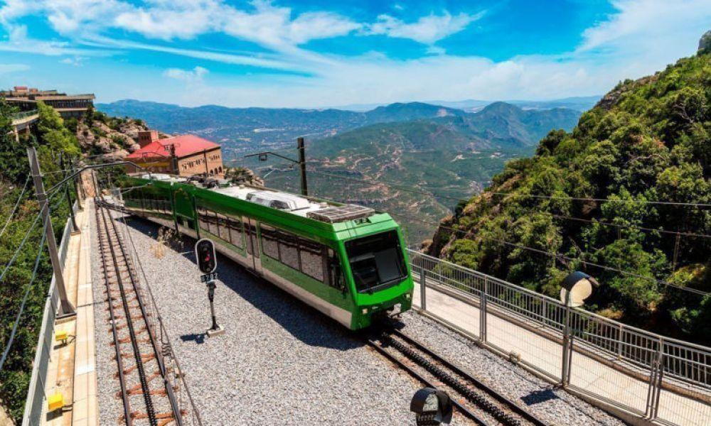 Train à crémaillère de Montserrat