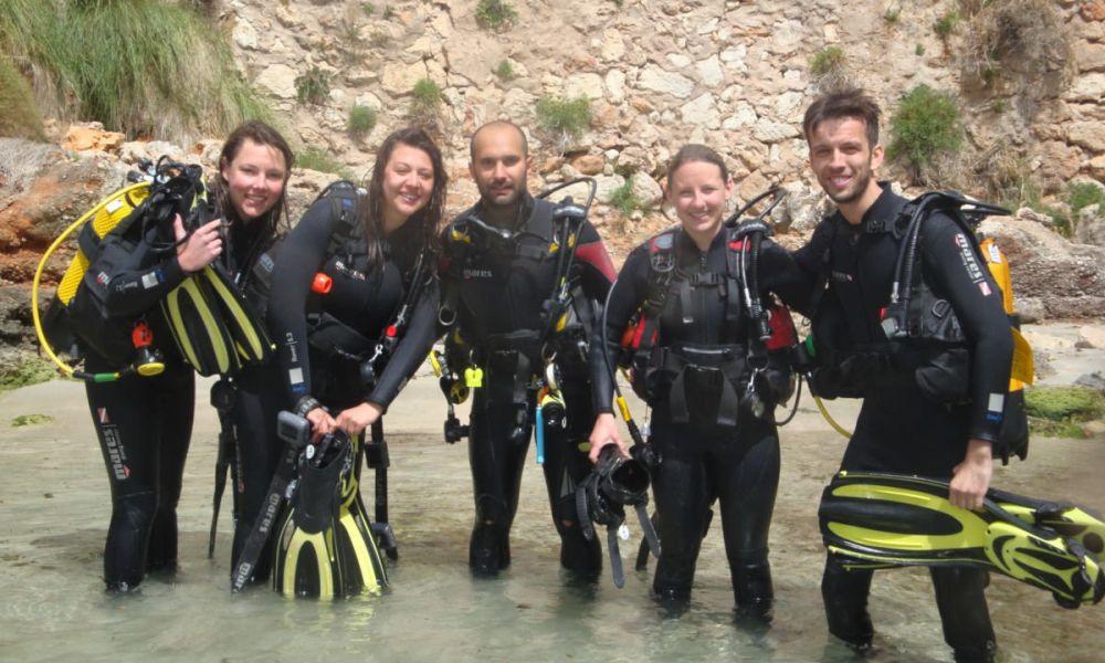 Groupe de plongée