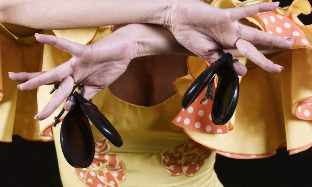 Les castagnettes du flamenco