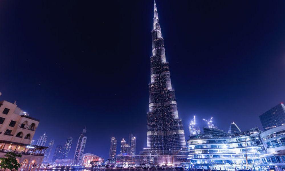 Le Burj Khalifa de nuit