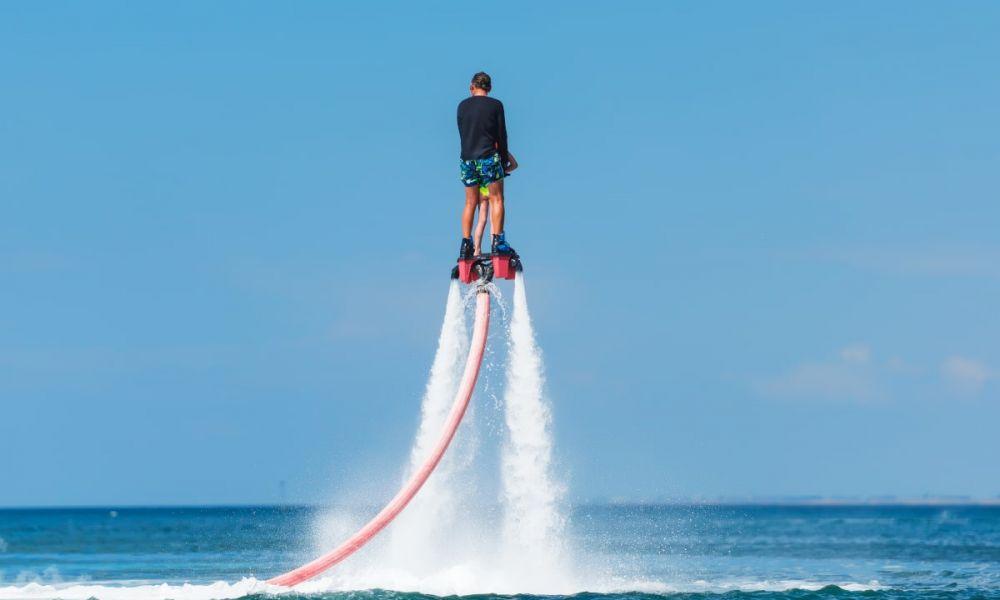 Flyboard à Lanzarote
