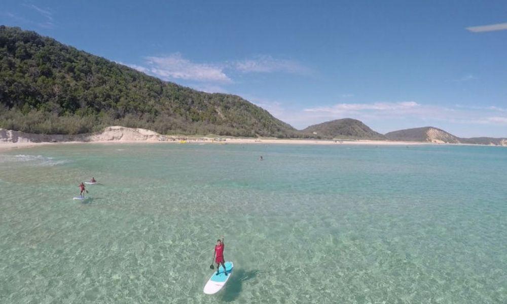 Vue sur Double Island Point