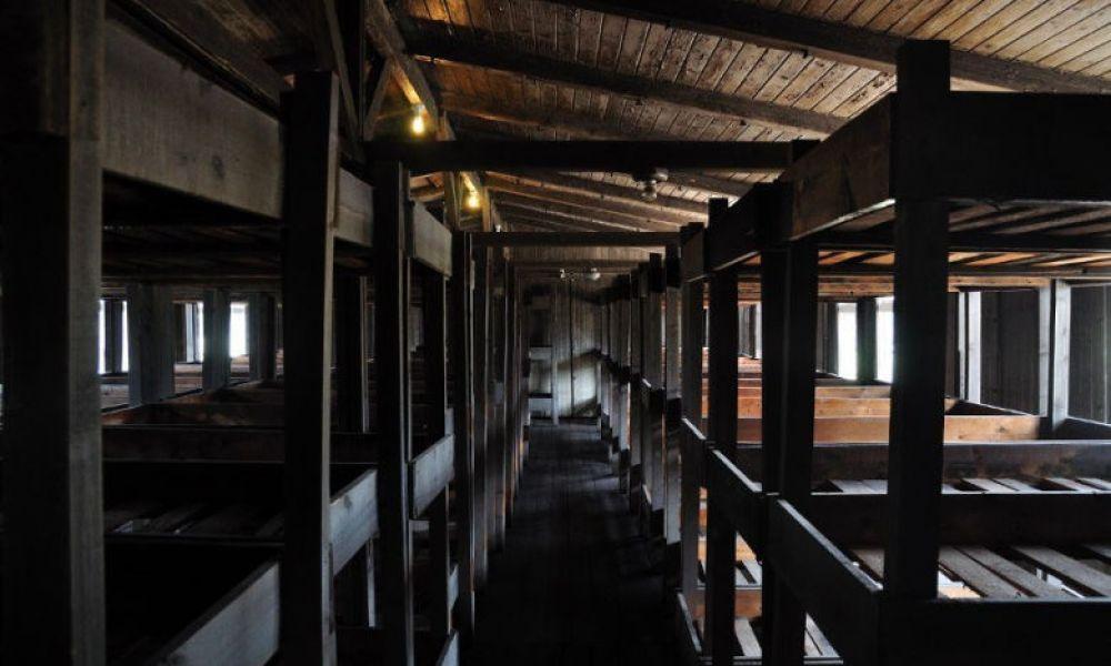 Les barraquements de Sachsenhausen