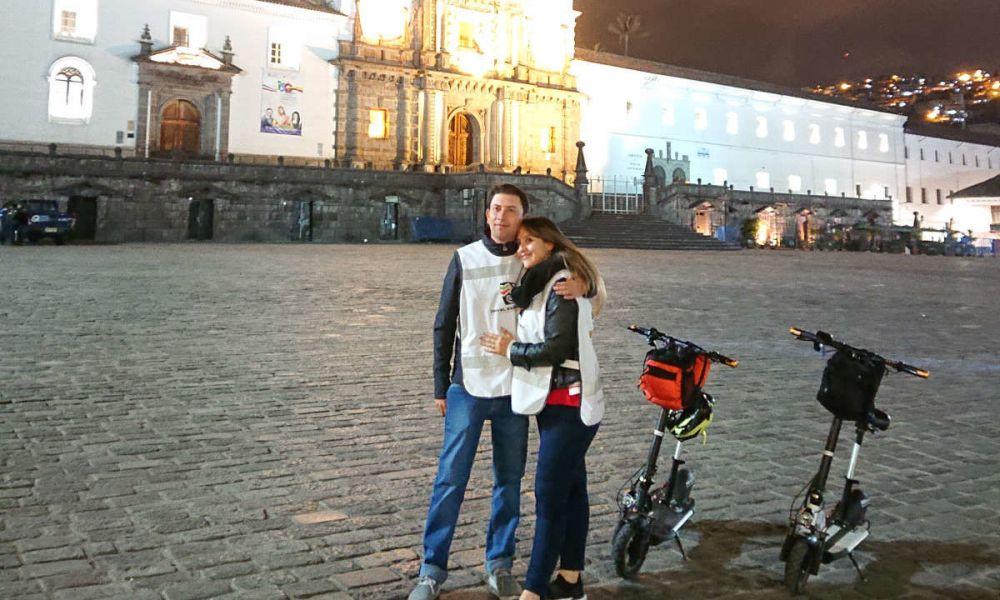 Balade nocturne dans Quito