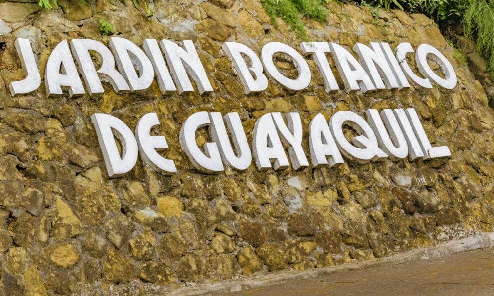 Entrée du jardin botanique de Guayaquil