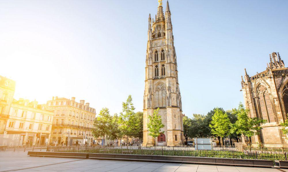 La tour Pey-Berland, un des symboles de Bordeaux