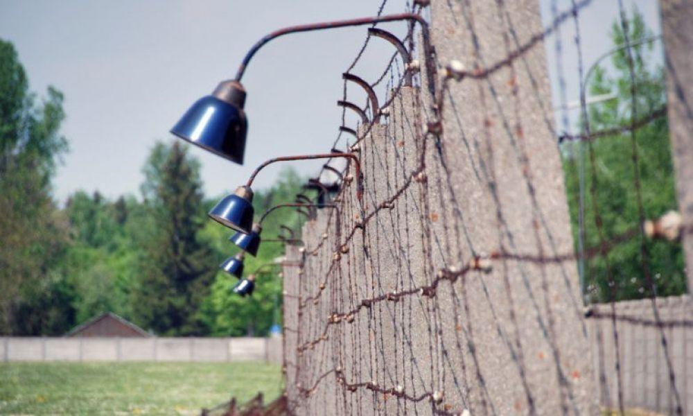 Arrivée au camp de concentration de Dachau
