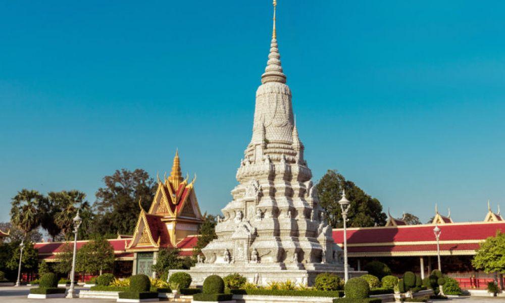Le palais royal et la pagote d'argent