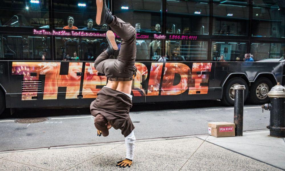Danses dans des rues de New York