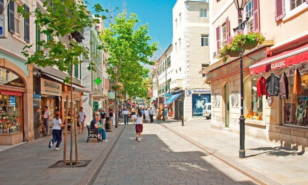 Main Street, la rue commerçante de Gibraltar