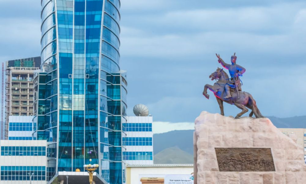 La place Sukhbaatar