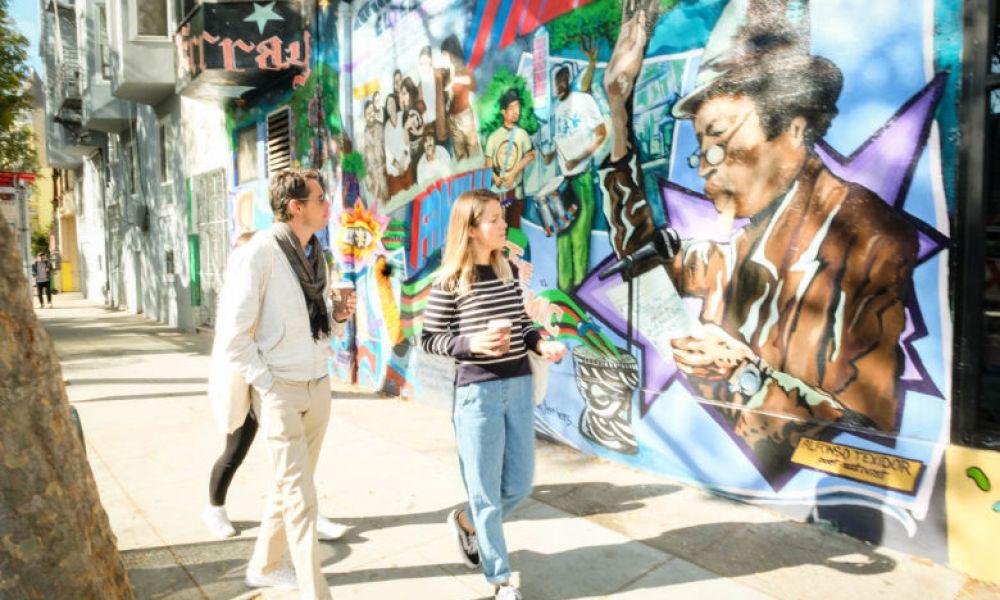Balade à travers le street art à San Francisco