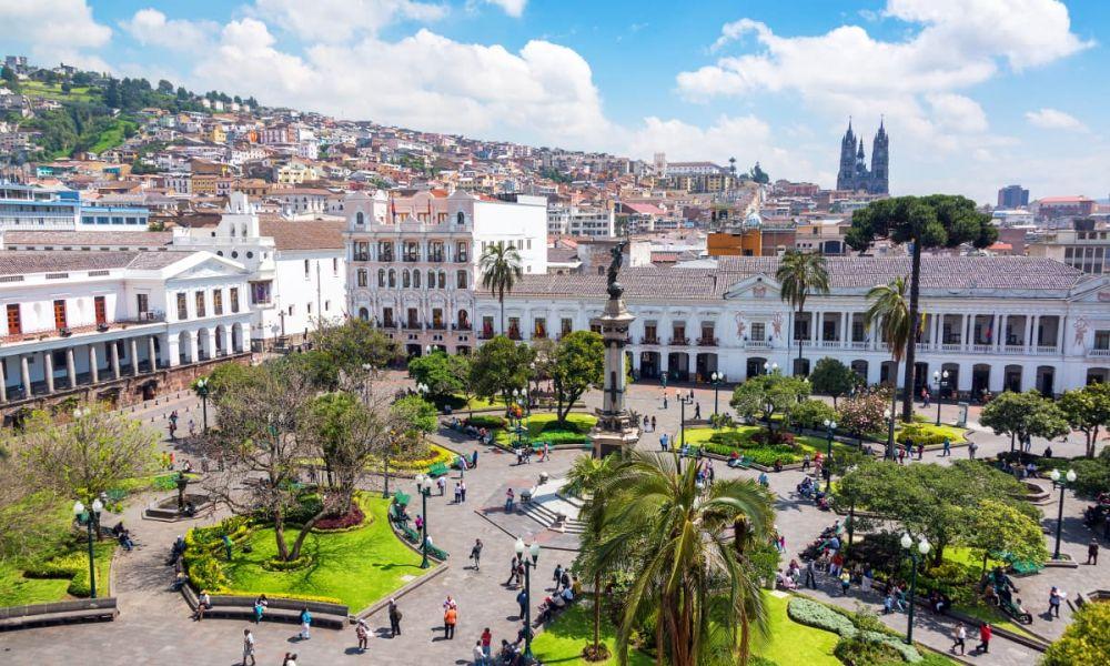 Place de l'Indépendance de Quito